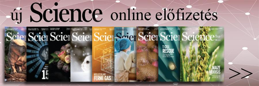 Science új online előfizetés