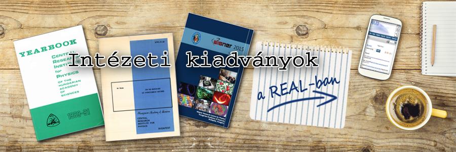 Intézeti kiadványok a REAL-ban