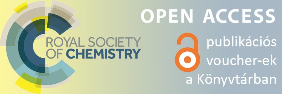 RSC Open Access publikációs voucher