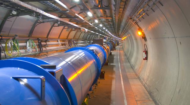 CERN LHC webkamera